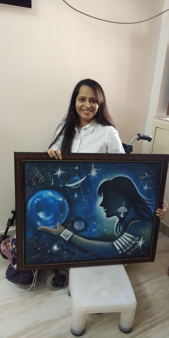 Payal Shrishrimal painting